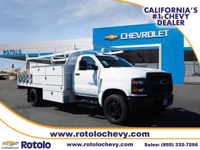 2019 Chevrolet Silverado 4500 Regular Cab DRW RWD, Royal Contractor Body #194985K - photo 1