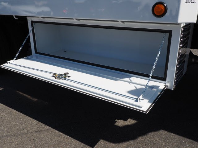 2019 Silverado 5500 Regular Cab DRW 4x2, Scelzi WFB Stake Bed #195000K - photo 7