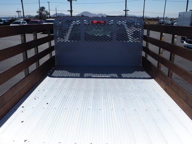 2019 Silverado 5500 Regular Cab DRW 4x2, Scelzi WFB Stake Bed #195000K - photo 8