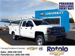 2019 Silverado 2500 Double Cab 4x2, Royal Service Body #195004K - photo 1