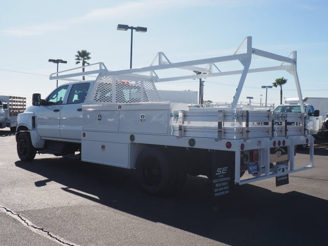 2019 Silverado 5500 Crew Cab DRW 4x2, Scelzi Contractor Body #195042K - photo 1
