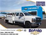2019 Chevrolet Silverado 5500 Crew Cab DRW 4x2,  Scelzi Contractor Body #195042K - photo 1