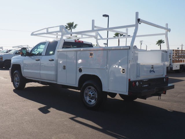 2019 Chevrolet Silverado 2500 Double Cab 4x2, Harbor Service Body #195138K - photo 1