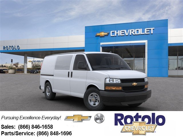 2020 Express 2500 4x2, Adrian Steel Commercial Shelving Upfitted Cargo Van #201465K - photo 1