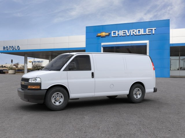 2020 Express 2500 4x2, Adrian Steel Commercial Shelving Upfitted Cargo Van #201465K - photo 2