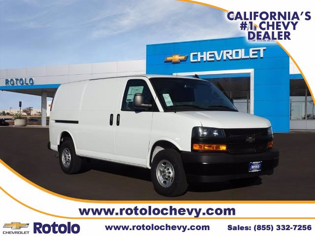 2020 Chevrolet Express 2500 4x2, Harbor Upfitted Cargo Van #204922K - photo 1