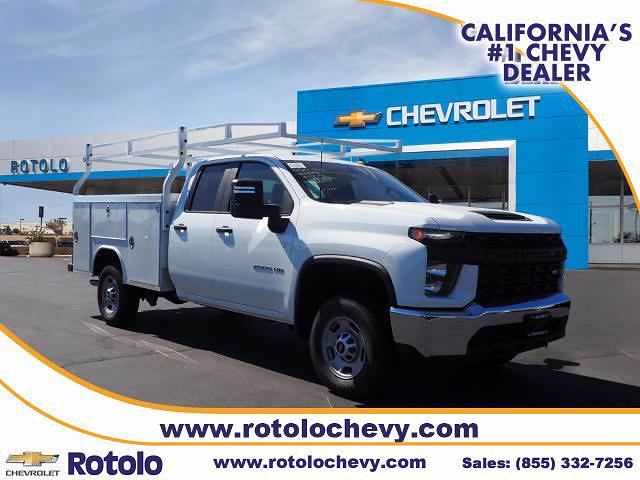 2021 Chevrolet Silverado 2500 Double Cab 4x2, Royal Service Body #211938K - photo 1