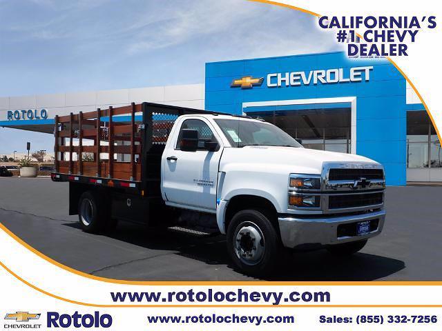 2021 Chevrolet Silverado 5500 Regular Cab DRW 4x2, City Trailer Service, Inc Stake Bed #212780K - photo 1