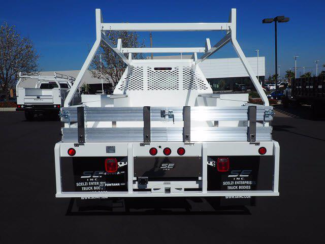 2021 Chevrolet Silverado 5500 Regular Cab DRW 4x2, Scelzi CTFB Contractor Body #212821K - photo 12