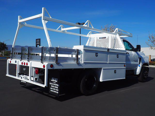 2021 Chevrolet Silverado 5500 Regular Cab DRW 4x2, Scelzi CTFB Contractor Body #212821K - photo 2
