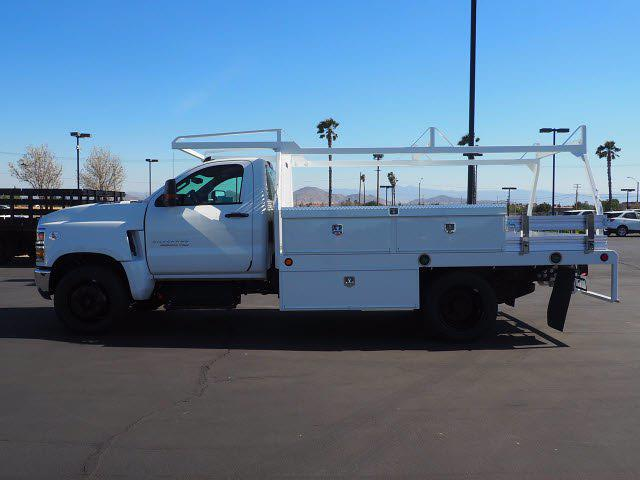 2021 Chevrolet Silverado 5500 Regular Cab DRW 4x2, Scelzi CTFB Contractor Body #212821K - photo 5