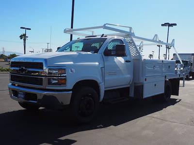 2021 Chevrolet Silverado 5500 Regular Cab DRW 4x2, Scelzi CTFB Contractor Body #212821K - photo 4