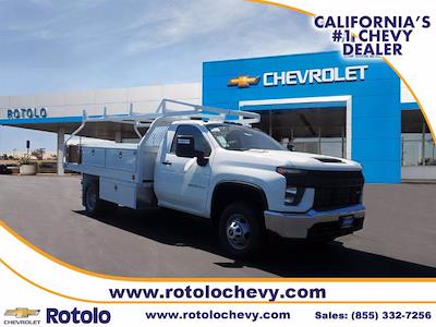 2021 Silverado 3500 Regular Cab 4x2,  Royal Truck Body Contractor Body #213106K - photo 1