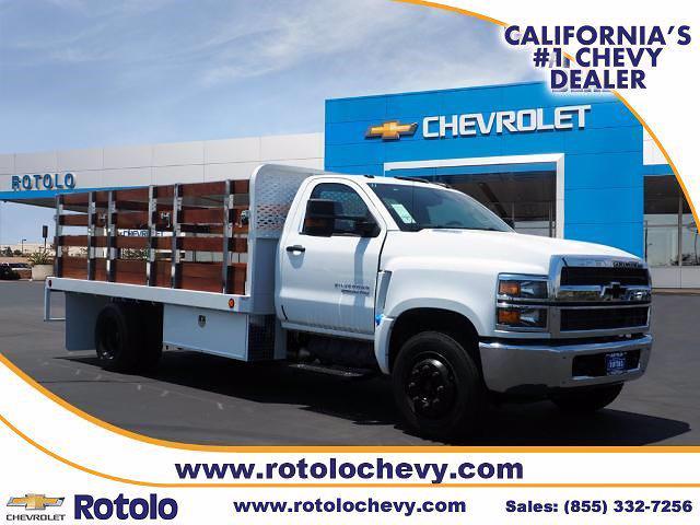 2021 Chevrolet Silverado 5500 Regular Cab DRW 4x2, Scelzi Stake Bed #213300K - photo 1
