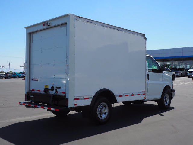 2021 Express 3500 4x2,  Morgan Truck Body Cutaway Van #213332K - photo 2