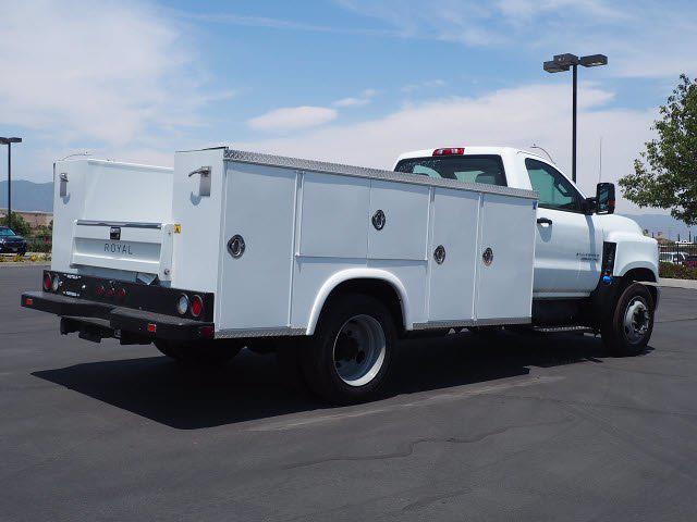 2021 Silverado 4500 Regular Cab DRW 4x2,  Royal Truck Body Service Body #213333KX - photo 2