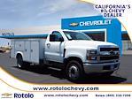 2021 Silverado 4500 Regular Cab DRW 4x2,  Royal Truck Body Service Body #213333KX - photo 1