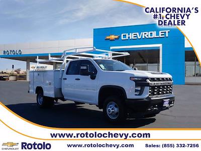 2021 Silverado 3500 Double Cab 4x2,  Cab Chassis #213414FT - photo 1