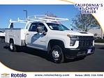 2021 Silverado 3500 Double Cab 4x2,  Cab Chassis #213415FT - photo 1