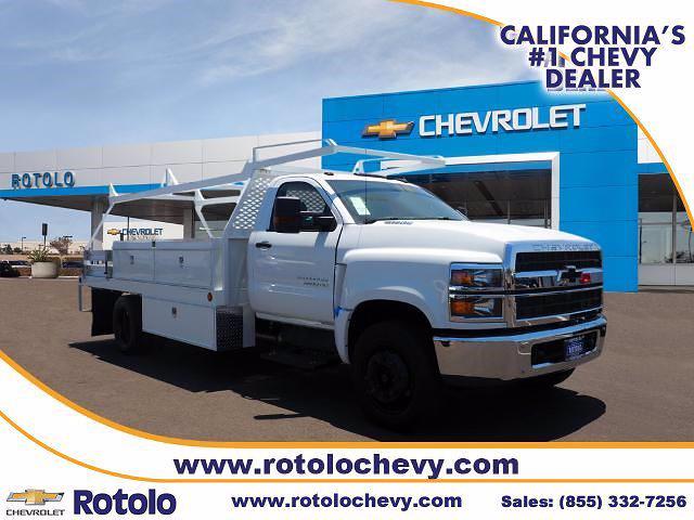 2021 Chevrolet Silverado 5500 Regular Cab DRW 4x2, Scelzi Contractor Body #213483K - photo 1