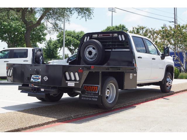 2021 Chevrolet Silverado 3500 Crew Cab 4x4, CM Truck Beds Platform Body #CF1523 - photo 1