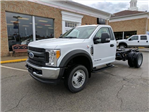 2018 F-550 Regular Cab DRW 4x4, Cab Chassis #L02270 - photo 1
