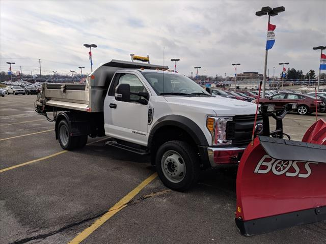 2017 F-550 Regular Cab DRW 4x4, Monroe Dump Body #L08855 - photo 6