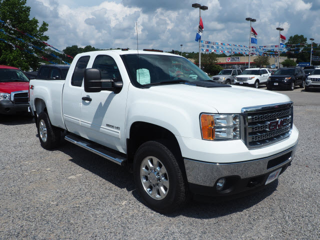 2013 Sierra 2500 Extended Cab 4x4,  Pickup #L12087A - photo 4