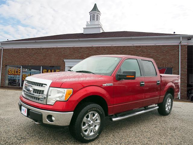 2013 F-150 Super Cab 4x4, Pickup #L66983A - photo 1