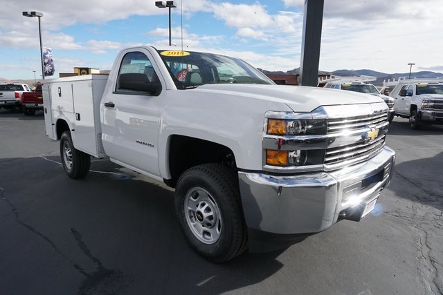 2018 Silverado 2500 Regular Cab 4x4,  Knapheide Service Body #CC18233 - photo 7