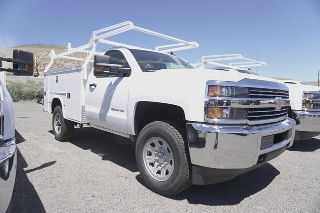 2018 Silverado 3500 Regular Cab 4x4,  Knapheide Service Body #CC18457 - photo 4