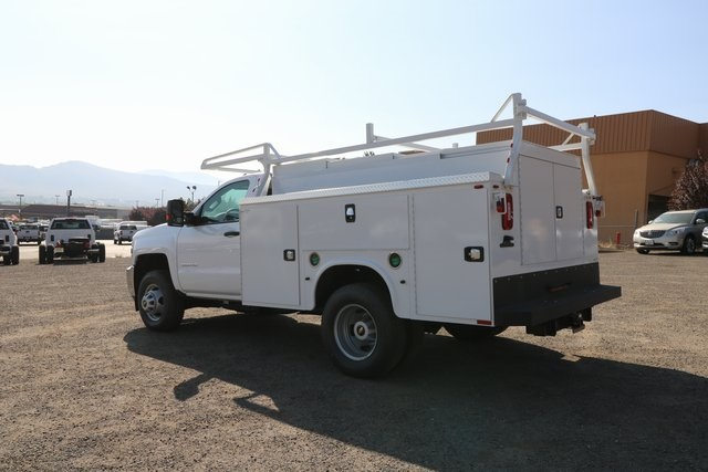 2018 Silverado 3500 Regular Cab DRW 4x4,  Knapheide Service Body #CC18465 - photo 2