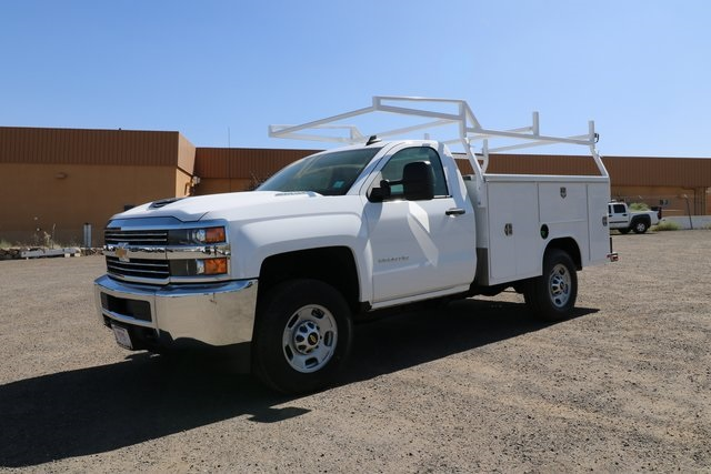 2018 Silverado 2500 Regular Cab 4x4,  Harbor Service Body #CC18527 - photo 1