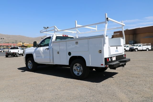 2018 Silverado 2500 Regular Cab 4x4,  Harbor Service Body #CC18527 - photo 2