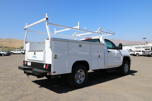 2018 Silverado 2500 Regular Cab 4x4,  Harbor Service Body #CC18527 - photo 3