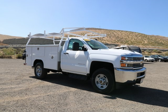 2018 Silverado 2500 Regular Cab 4x4,  Harbor Service Body #CC18527 - photo 4