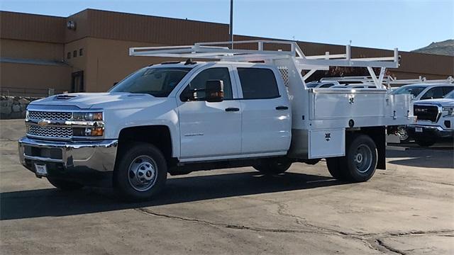 2019 Silverado 3500 Crew Cab 4x4,  Harbor Contractor Body #CCX19259 - photo 1