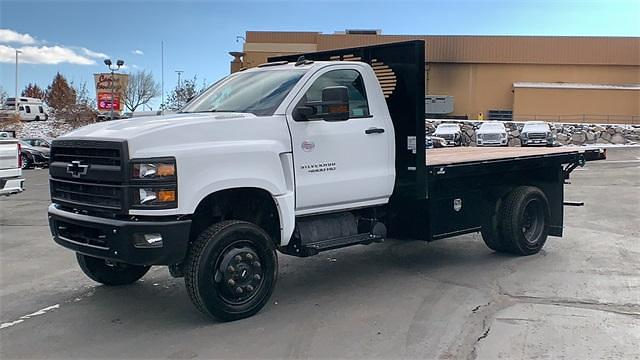 2020 Chevrolet Silverado Medium Duty Regular Cab DRW 4x4, Knapheide Platform Body #FCC20106 - photo 1