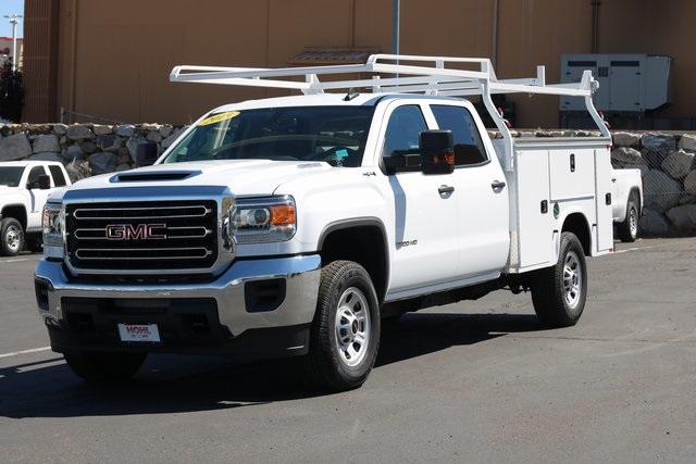 2019 Sierra 3500 Crew Cab 4x4,  Knapheide Service Body #GG19216 - photo 1