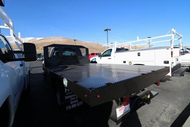 2018 Sierra 3500 Regular Cab DRW 4x4,  Monroe Platform Body #GGX18339 - photo 1