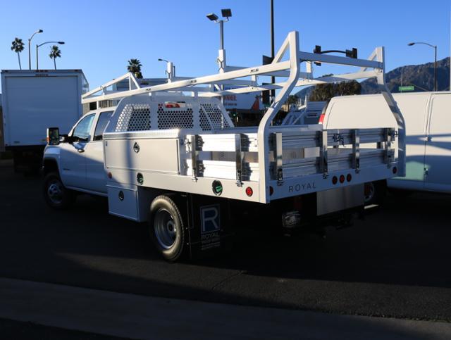 2019 Sierra 3500 Crew Cab DRW 4x2,  Royal Contractor Body #T48311 - photo 1