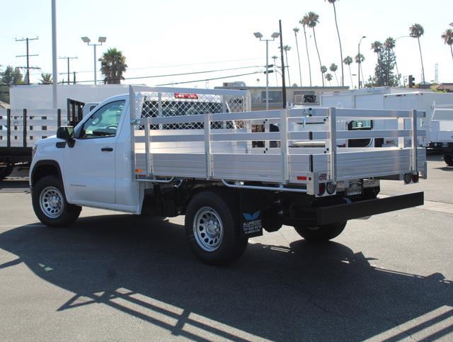 2020 GMC Sierra 1500 Regular Cab 4x2, AlumBody Stake Bed #T49527 - photo 3