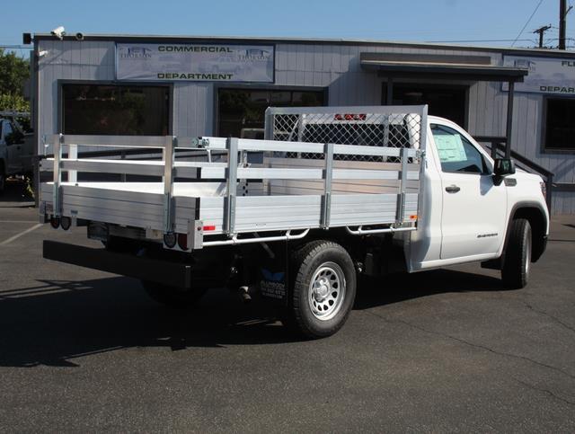 2020 GMC Sierra 1500 Regular Cab 4x2, AlumBody Stake Bed #T49527 - photo 2