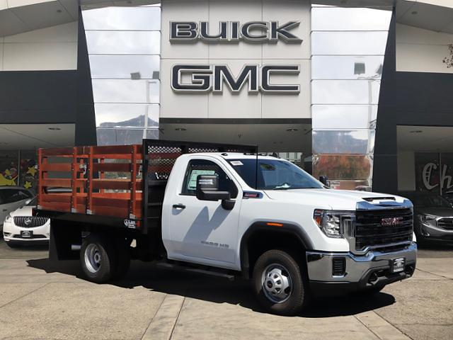 2020 GMC Sierra 3500 Regular Cab 4x2, Lion Truck Body Stake Bed #T49777 - photo 1