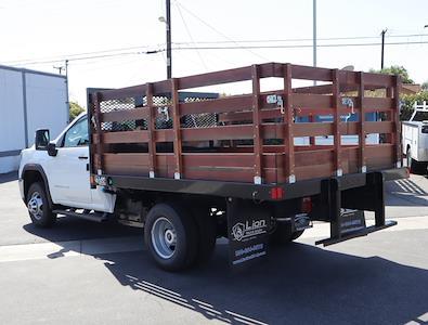 2020 GMC Sierra 3500 Regular Cab 4x2, Lion Truck Body Stake Bed #T49777 - photo 4
