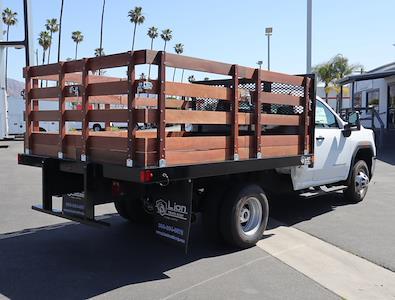 2020 GMC Sierra 3500 Regular Cab 4x2, Lion Truck Body Stake Bed #T49777 - photo 2