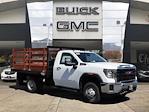 2020 GMC Sierra 3500 Regular Cab 4x2, Lion Truck Body Stake Bed #T49777 - photo 1