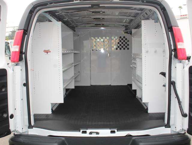 2020 GMC Savana 2500 4x2, Harbor Upfitted Cargo Van #T49795 - photo 1