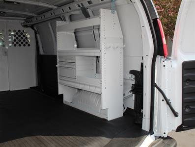2020 GMC Savana 2500 4x2, Harbor Upfitted Cargo Van #T49800 - photo 10