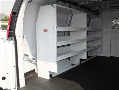 2020 GMC Savana 2500 4x2, Harbor Upfitted Cargo Van #T49800 - photo 2